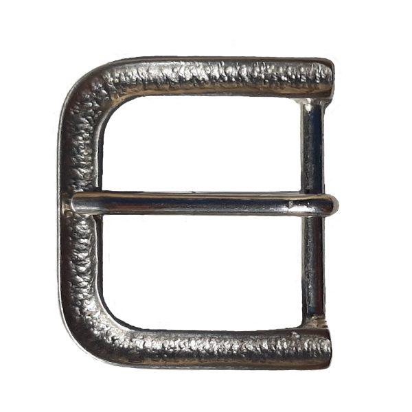 Dornschnalle Maritim Silber 4cm für Gürtel